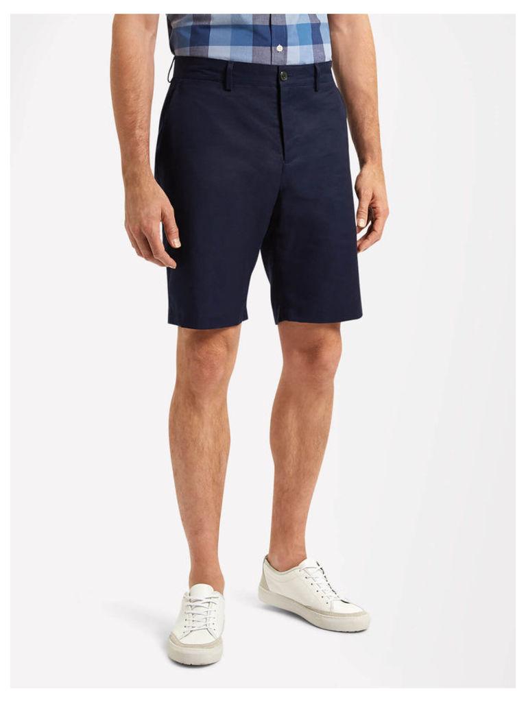 Lyle & Scott Cotton Linen Chino Shorts