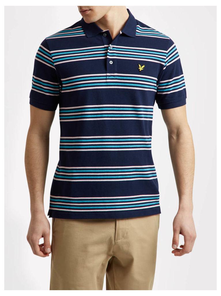 Lyle & Scott Stripe Polo Shirt