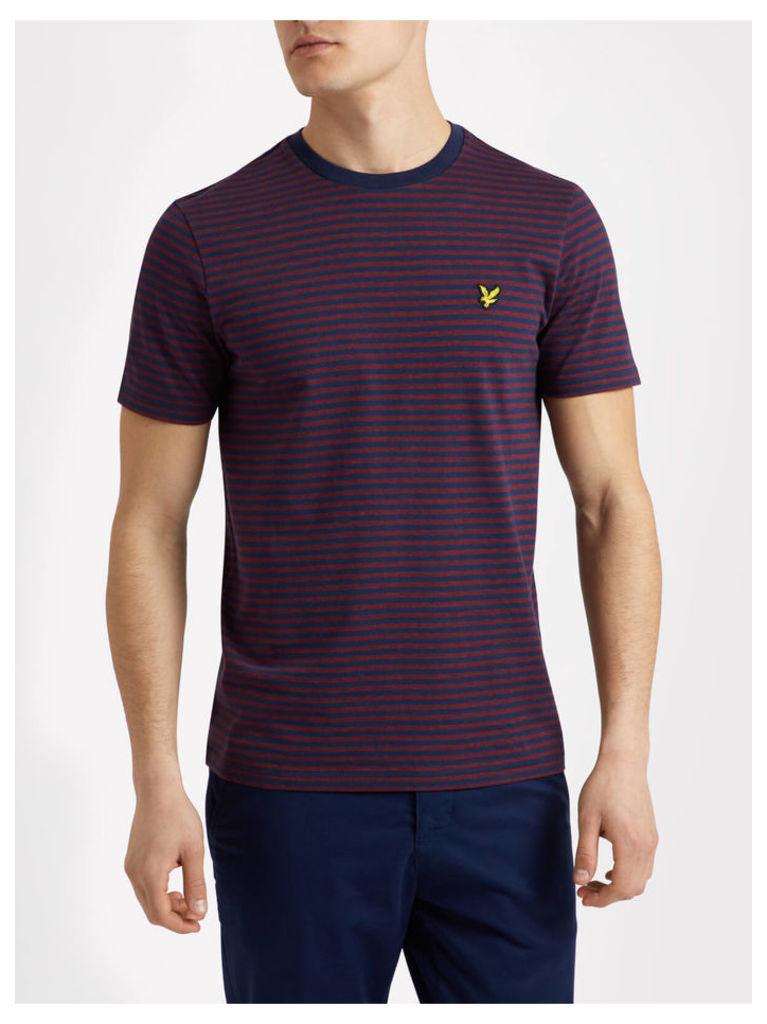 Lyle & Scott Mouline Stripe T-shirt