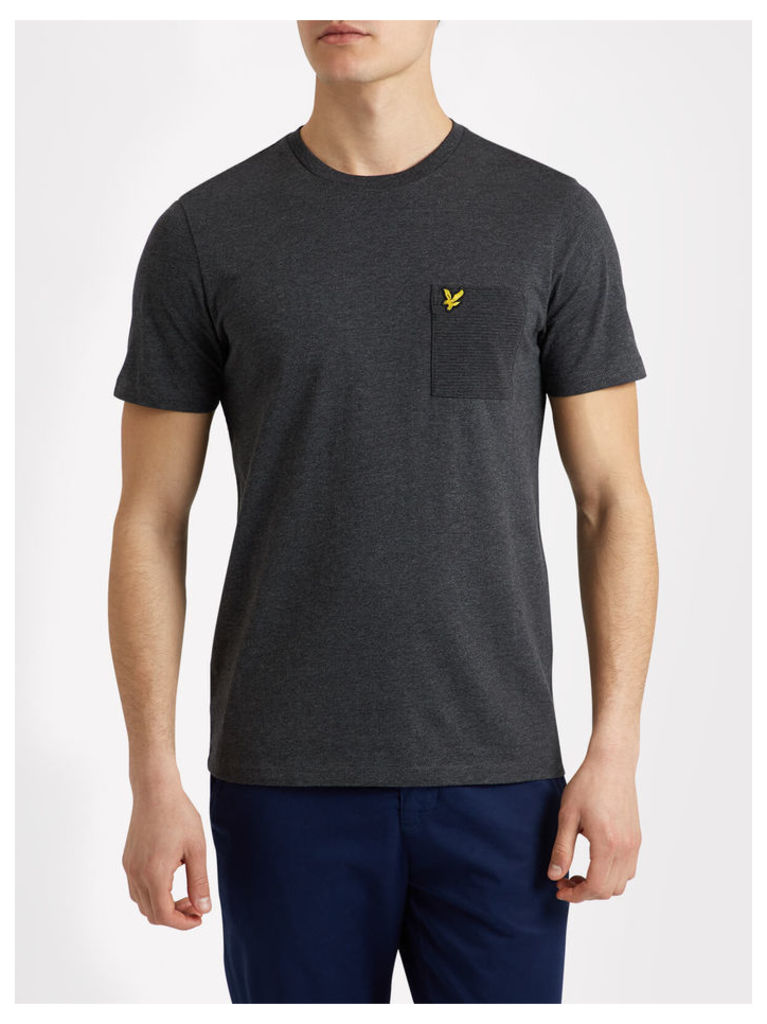 Lyle & Scott Ottoman Stitch Pocket T-shirt