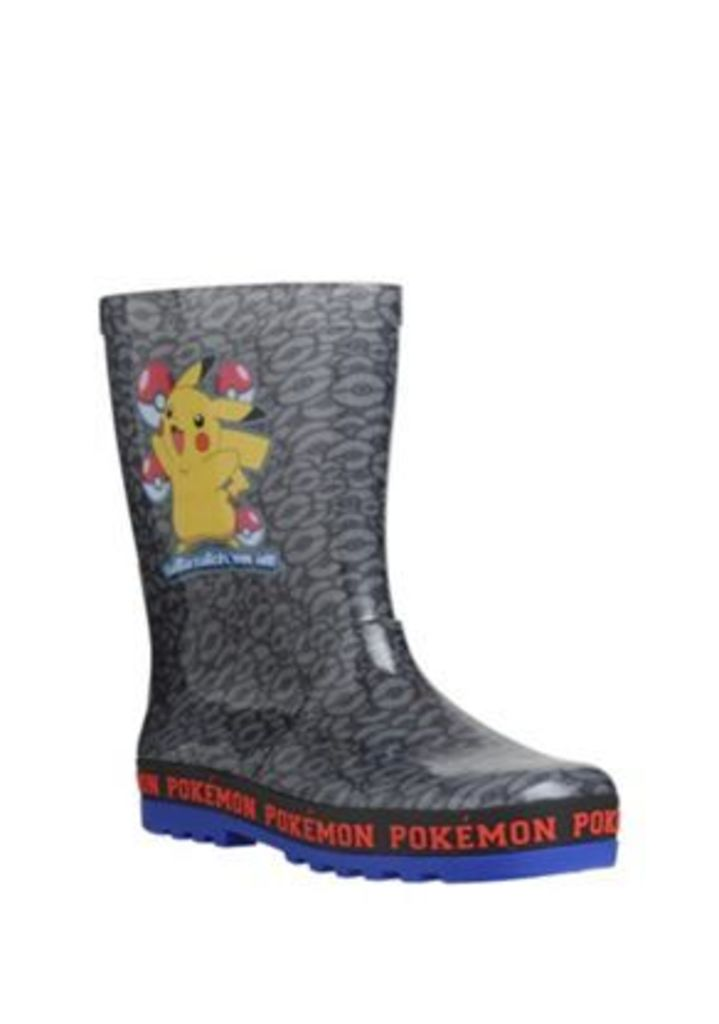 Pokemon Pikachu Wellies, Men's, Size: Adult 01, Character