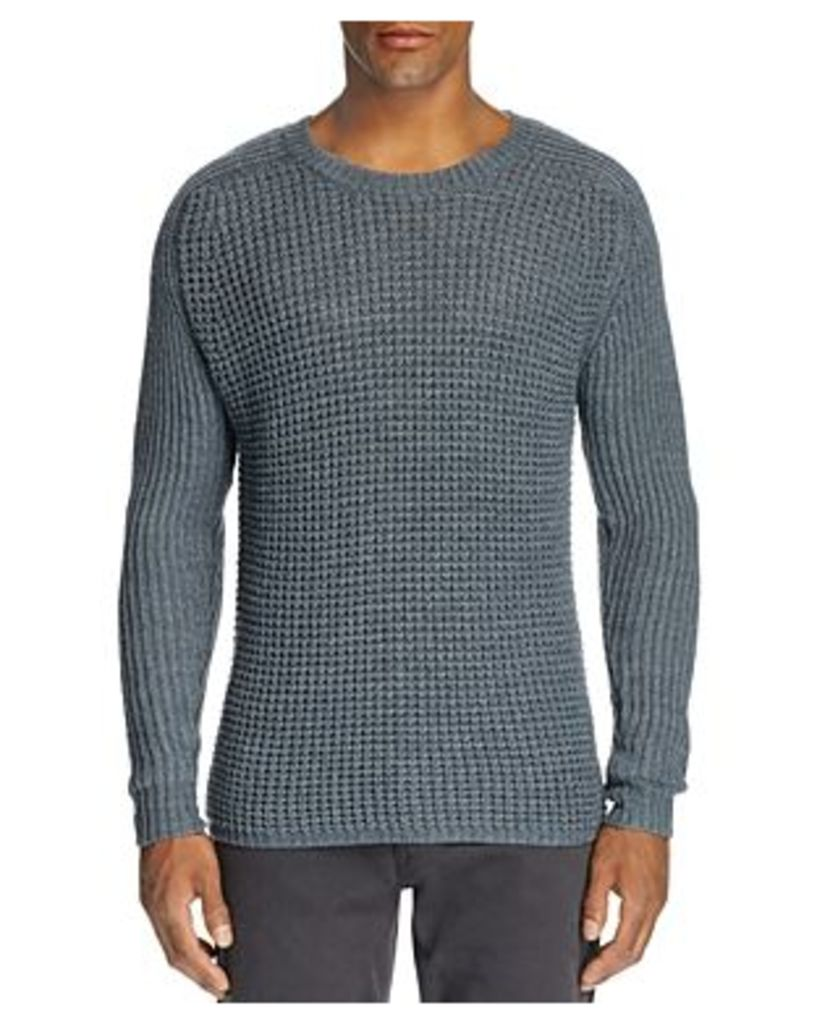 Paige Conroy Mixed Stich Crewneck Sweater