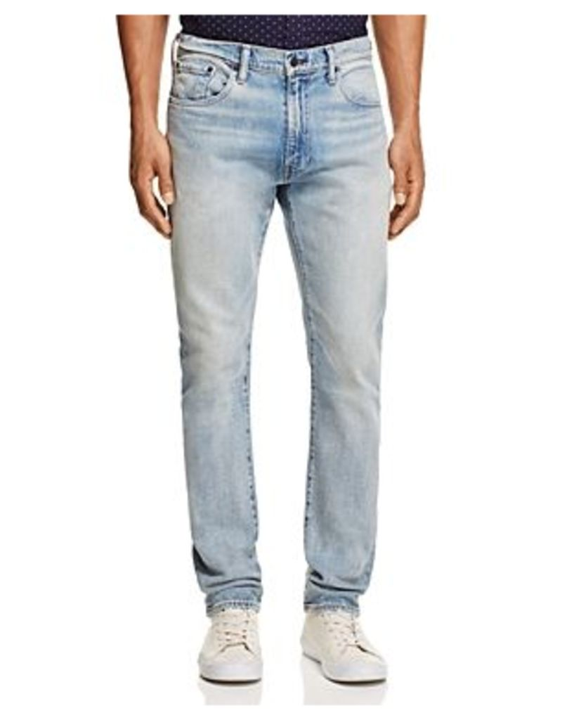 Levi's 505C Slim Straight Fit Jeans in Light Blue