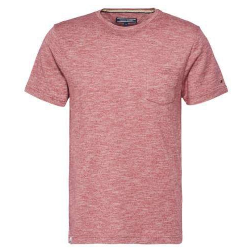 Men's Tommy Hilfiger Heathered T-shirt, Red