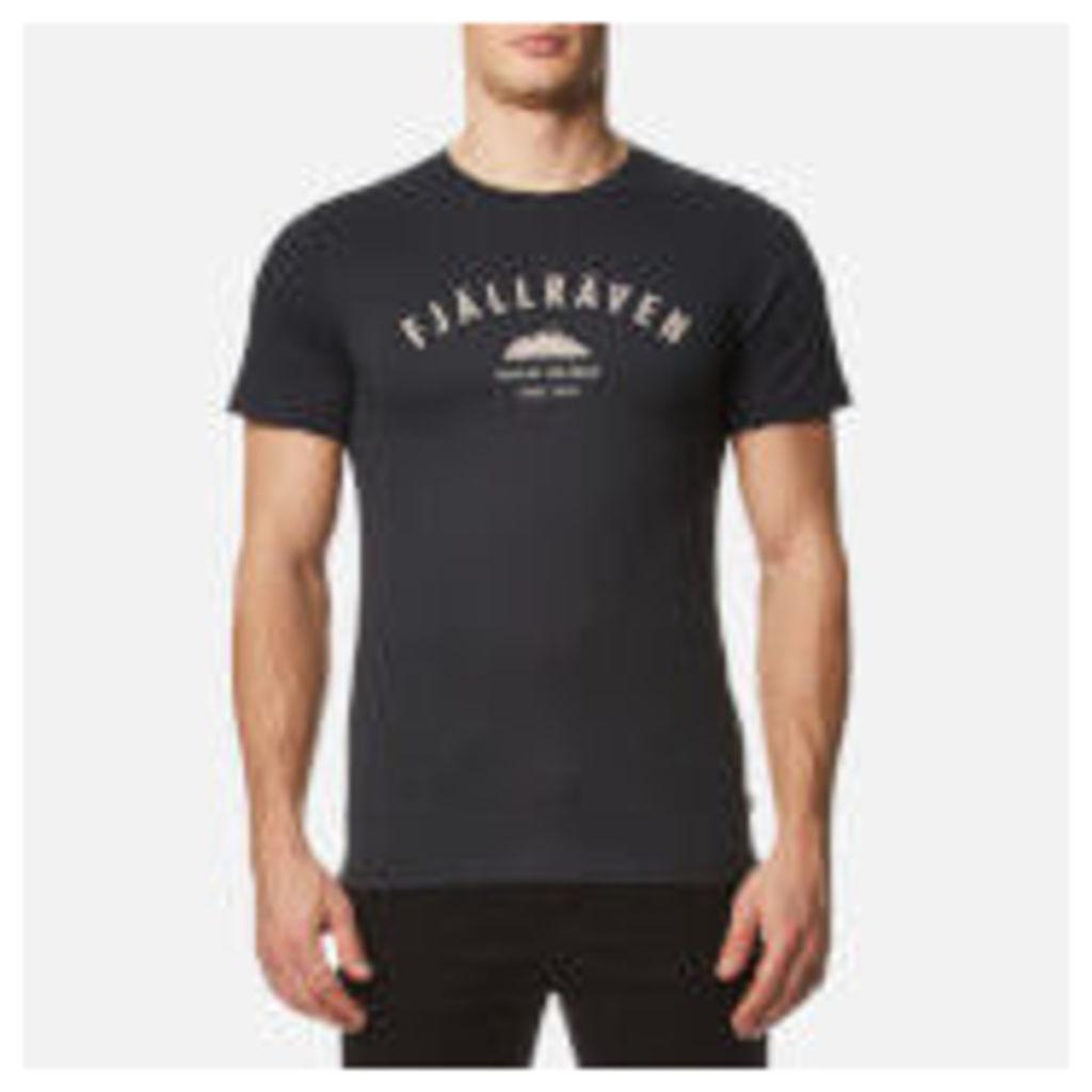 Fjallraven Men's Trekking Equipment T-Shirt - Dark Navy - M
