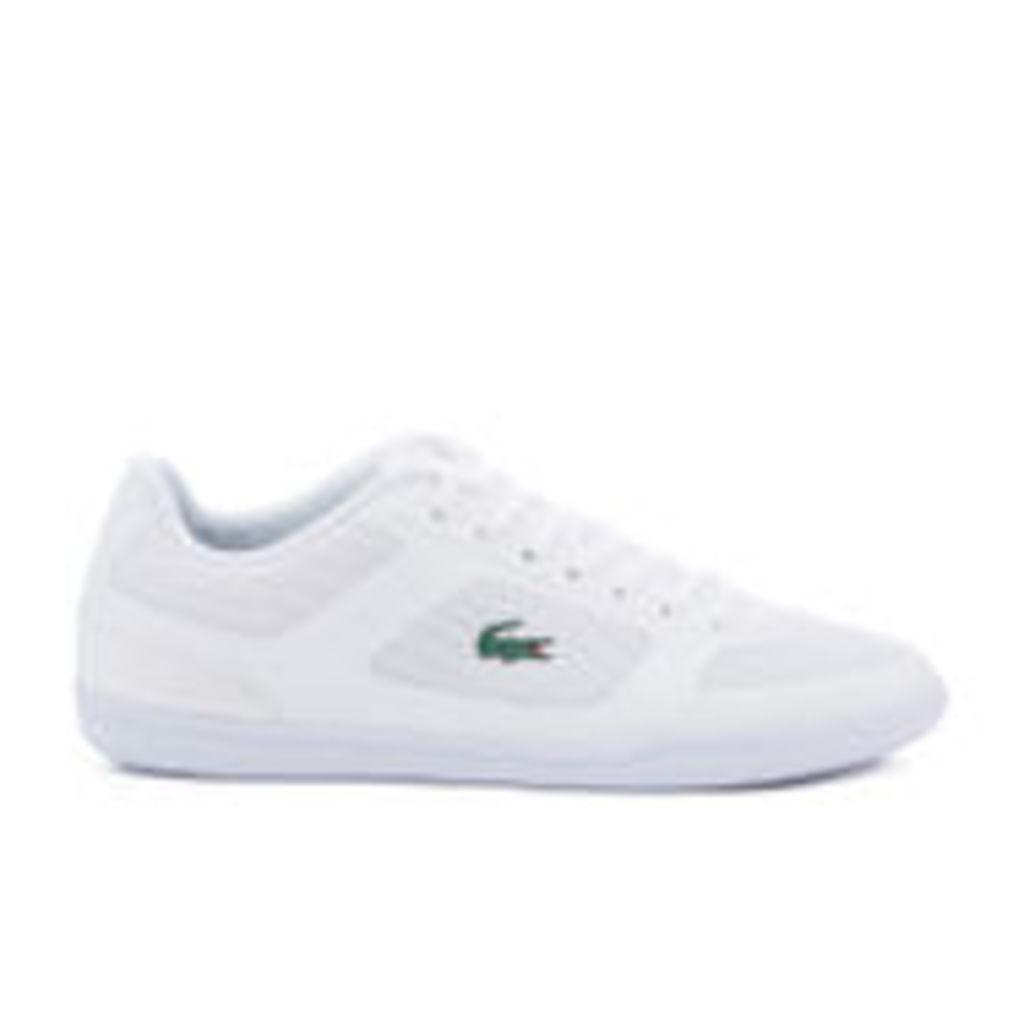 Lacoste Men's Court-Minimal Sport 316 1 Trainers - White - UK 11