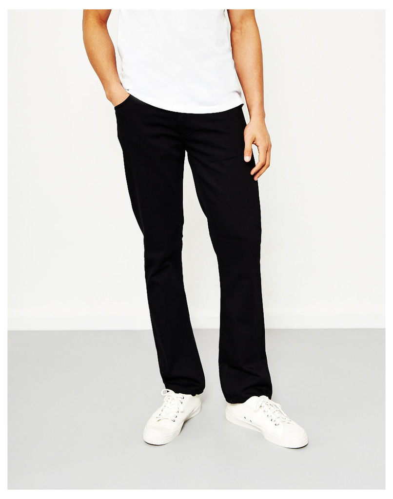 Nudie Jeans Co Dude Dan Dry Black Twill Jeans