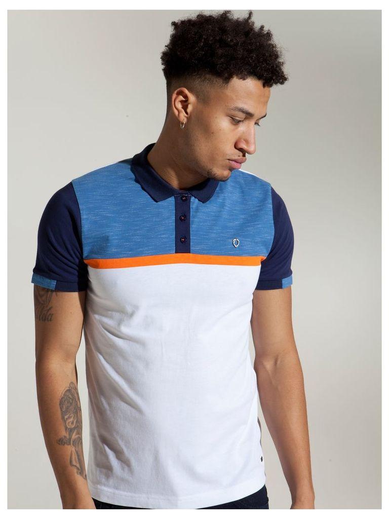 Mens ETO Polo Tshirt Style Emperor Blue