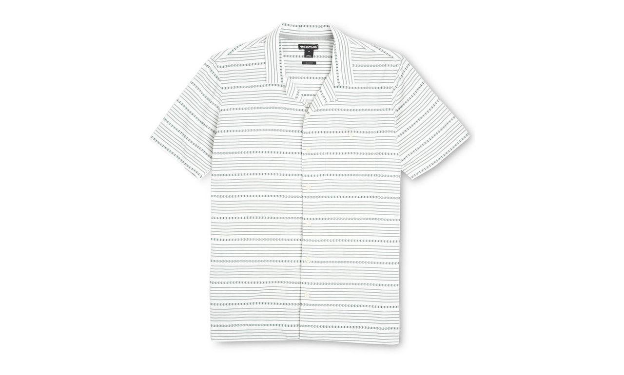 Safari Floral Stripe Shirt