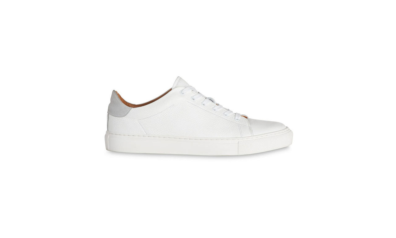 Low Top Textured Trainers