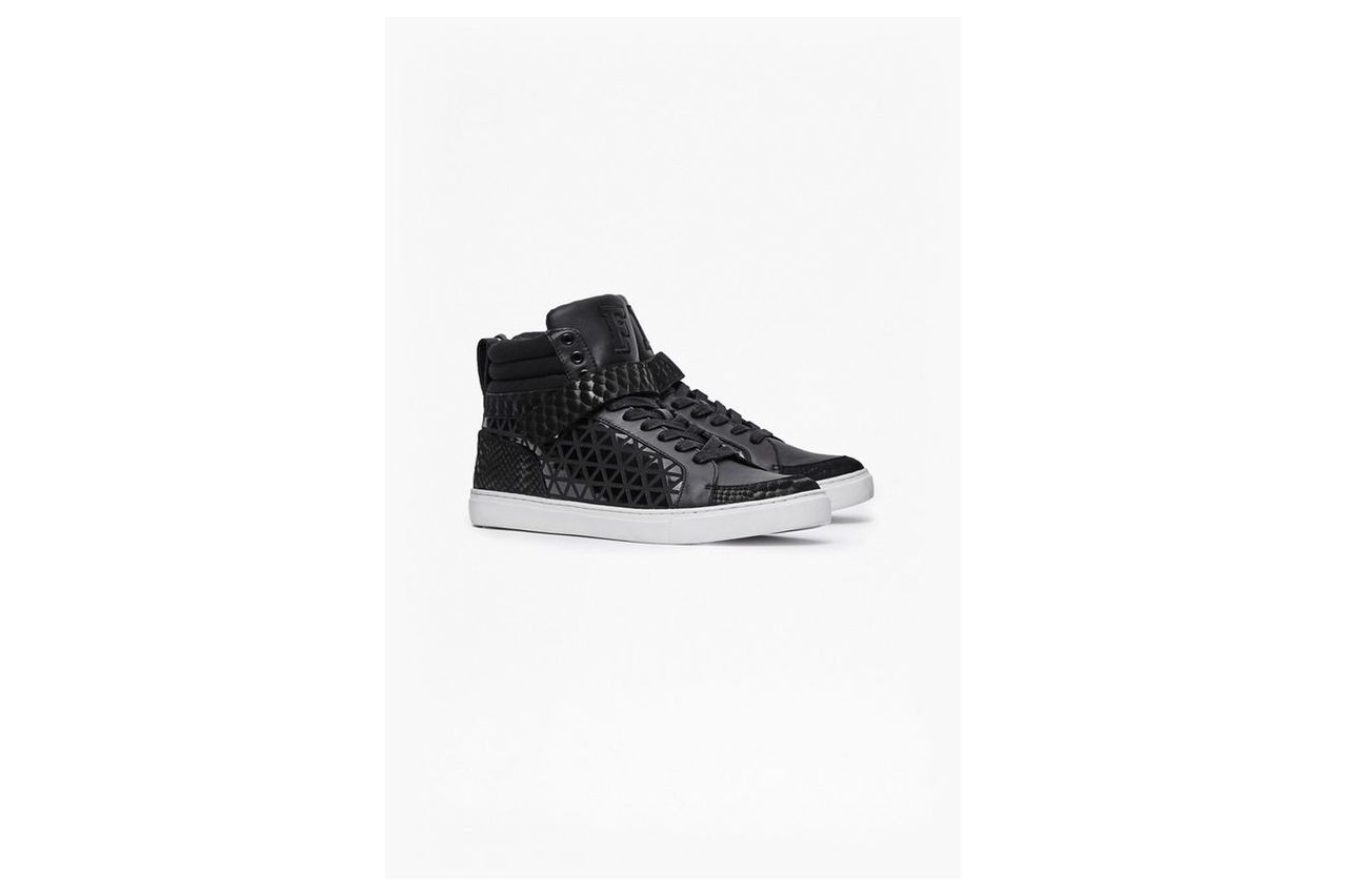 Costa High Top Trainers - black