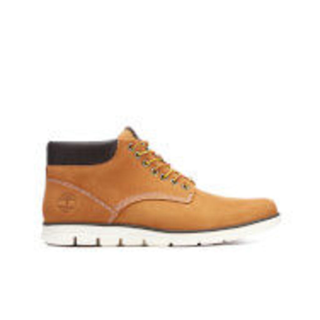 Timberland Men's Bradstreet Leather Chukka Boots - Wheat - UK 7