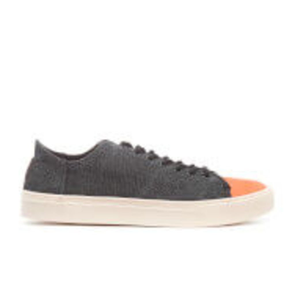 TOMS Men's Lenox Washed Canvas Trainers - Black Washed Canvas - UK 8/US 9