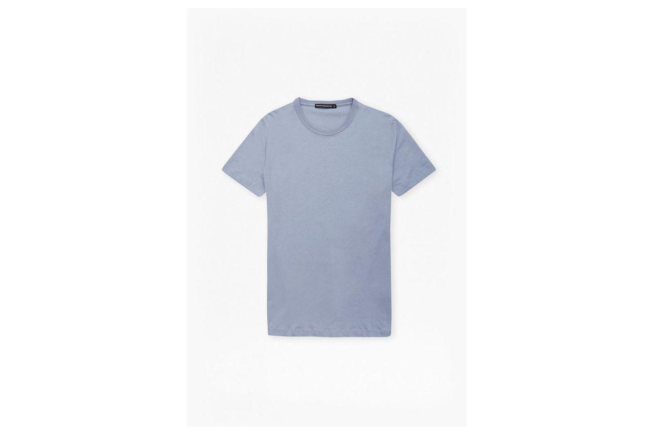 SS17 Classic Cotton T-Shirt - infinity blue