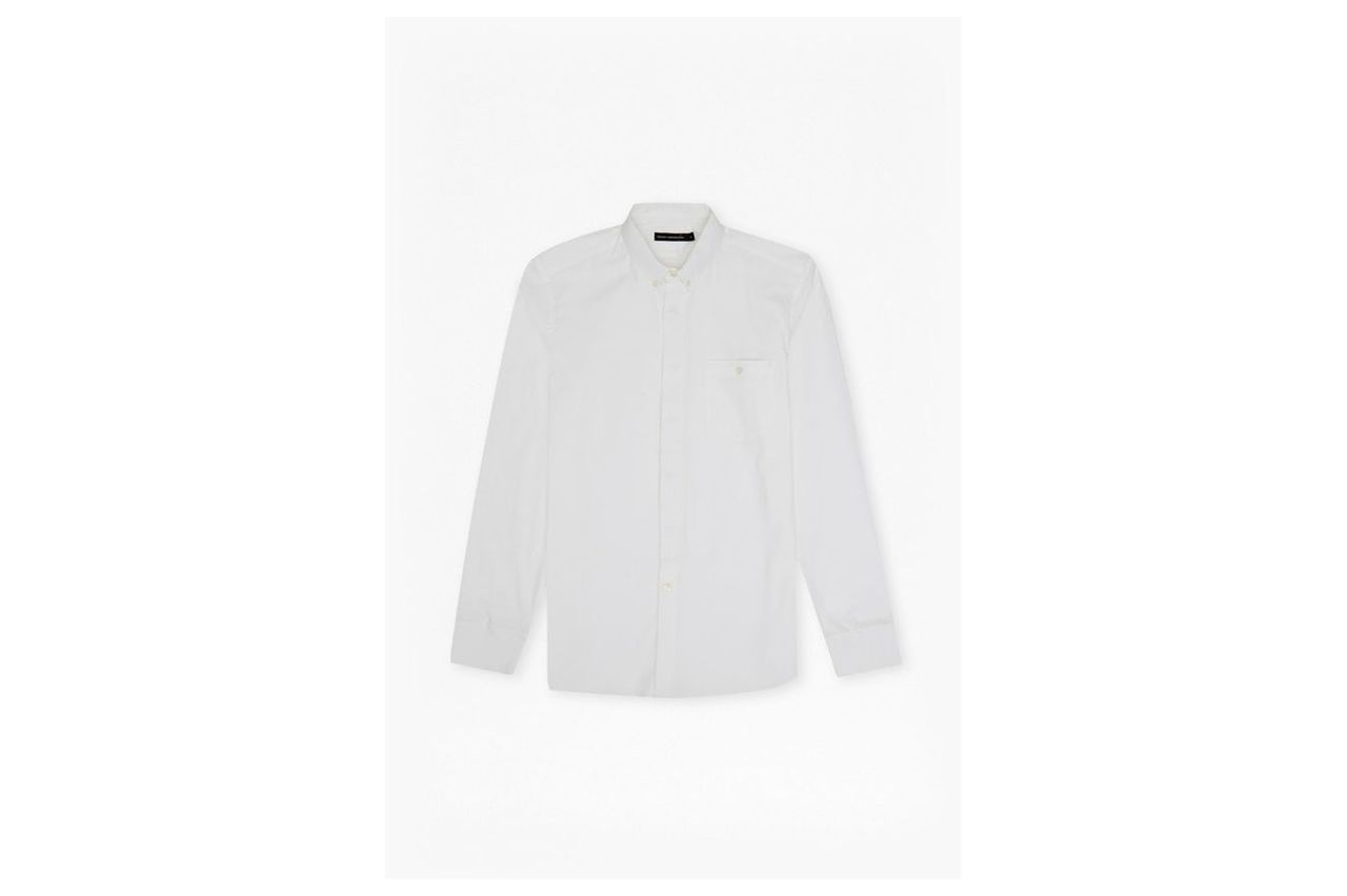 Wembly Stretch Connery Shirt - white