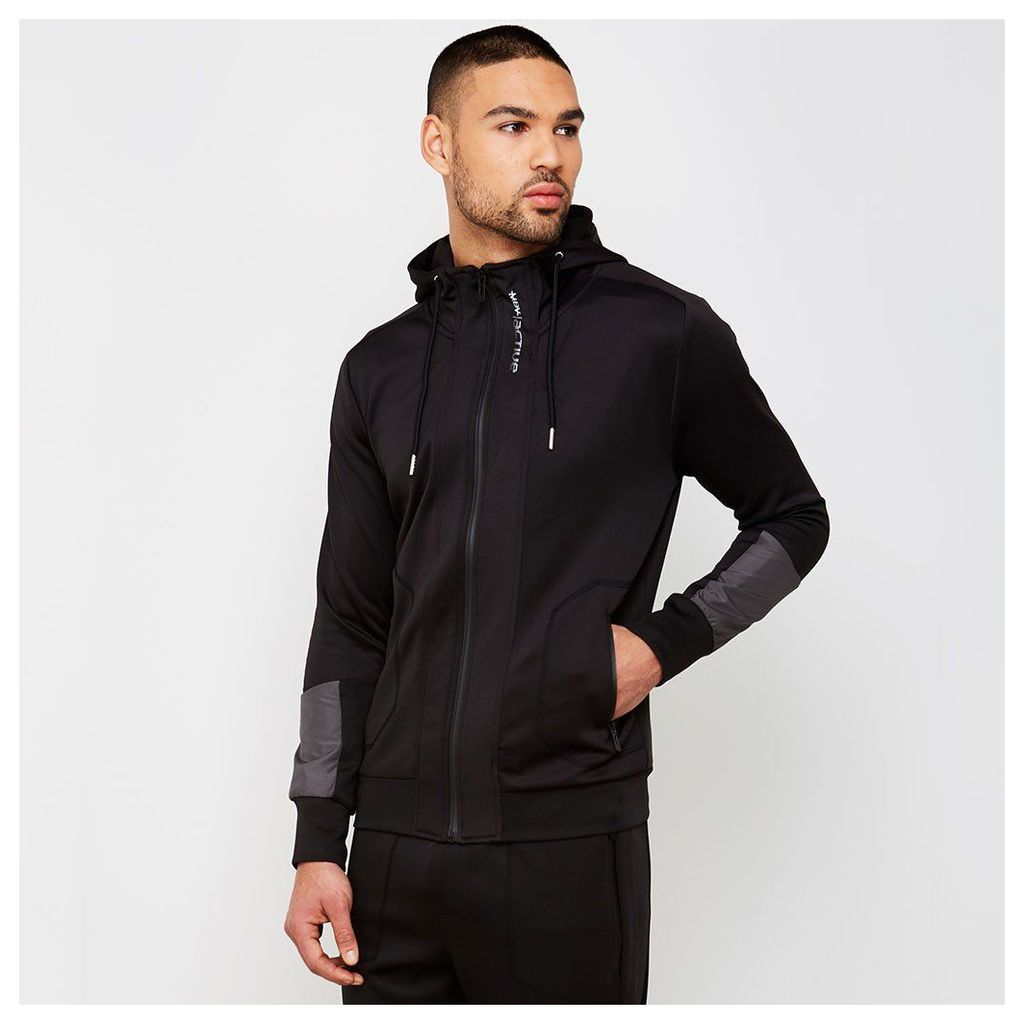 MDV Active Tracksuit Jacket - Black