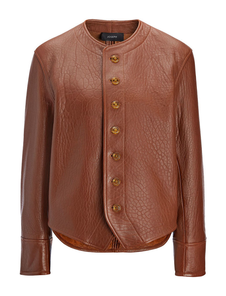 Bubble Leather Orlan Jacket