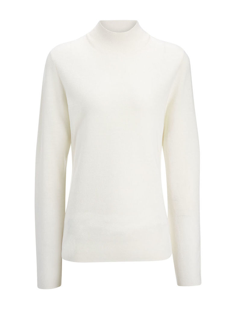 Superfine Merinos High Neck Top