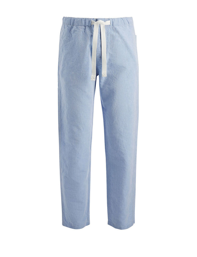 Linen Chambray Abington Trouser