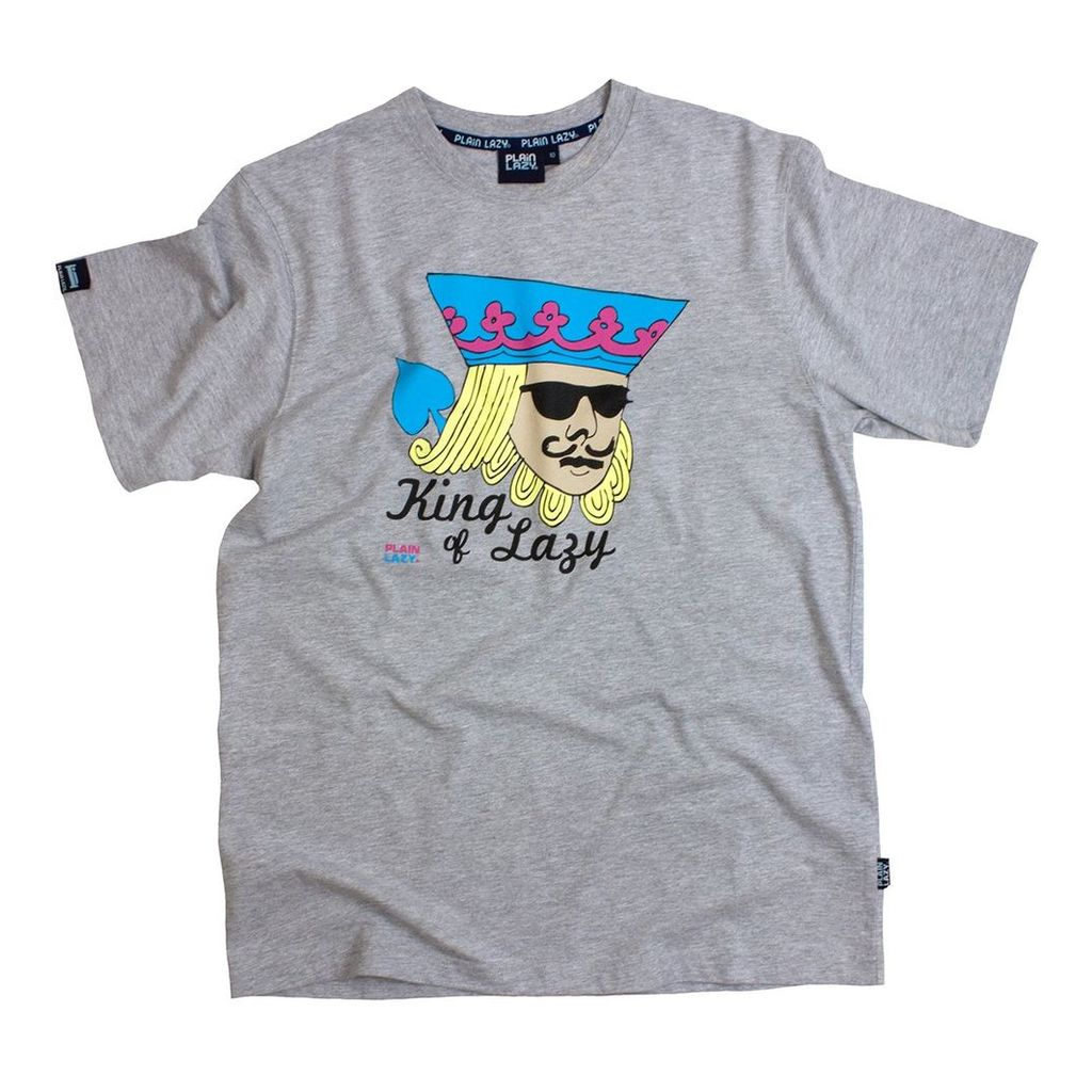 KING OF LAZY T SHIRT