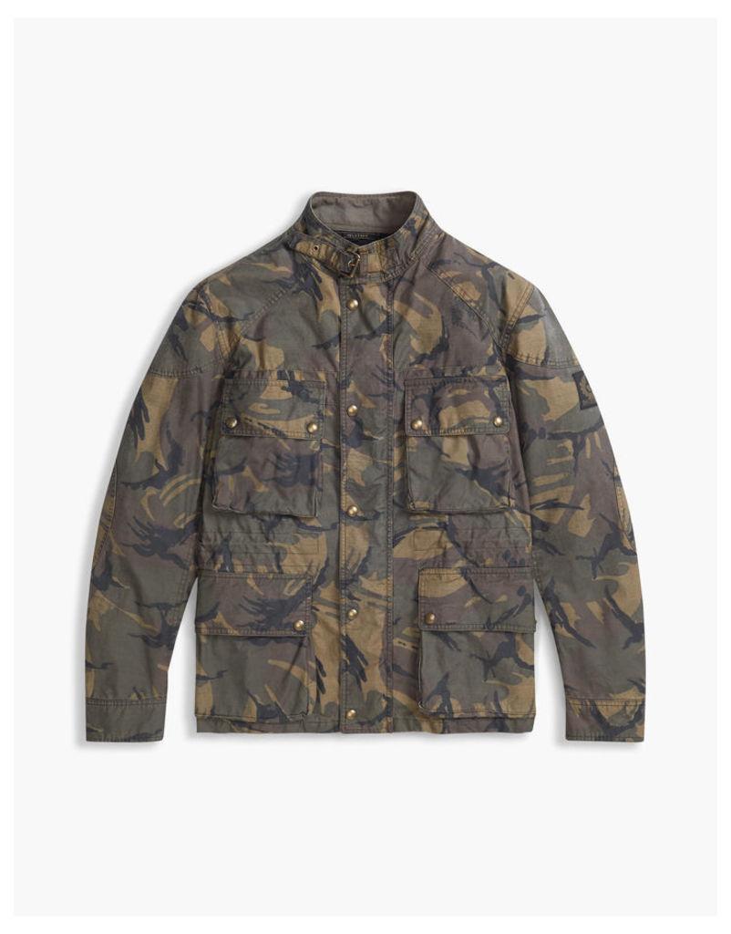 Belstaff Tyefield 4-Pocket Field Jacket Leaf Green