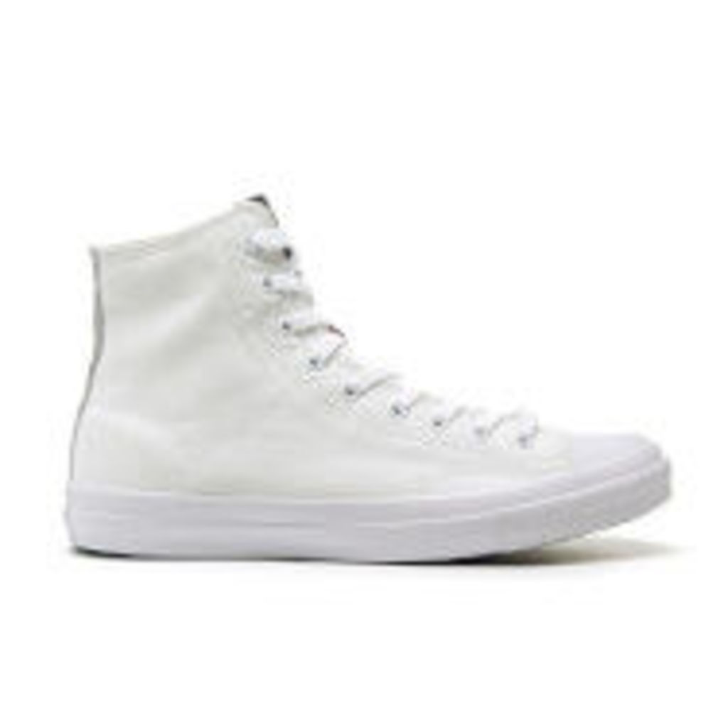 Superdry Men's Trophy Series High Top Trainers - Optic White - UK 12