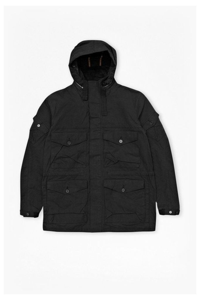 Chokwe Army Wolf Jacket - black