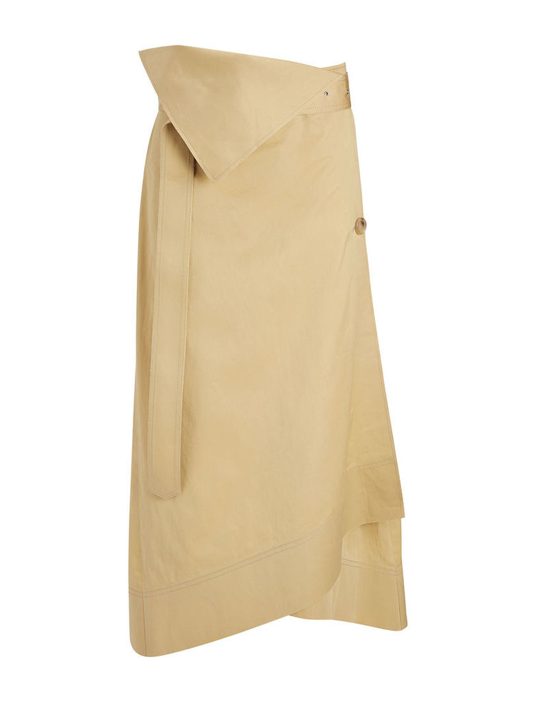 Bonded Sateen Shirting Berwick Skirt