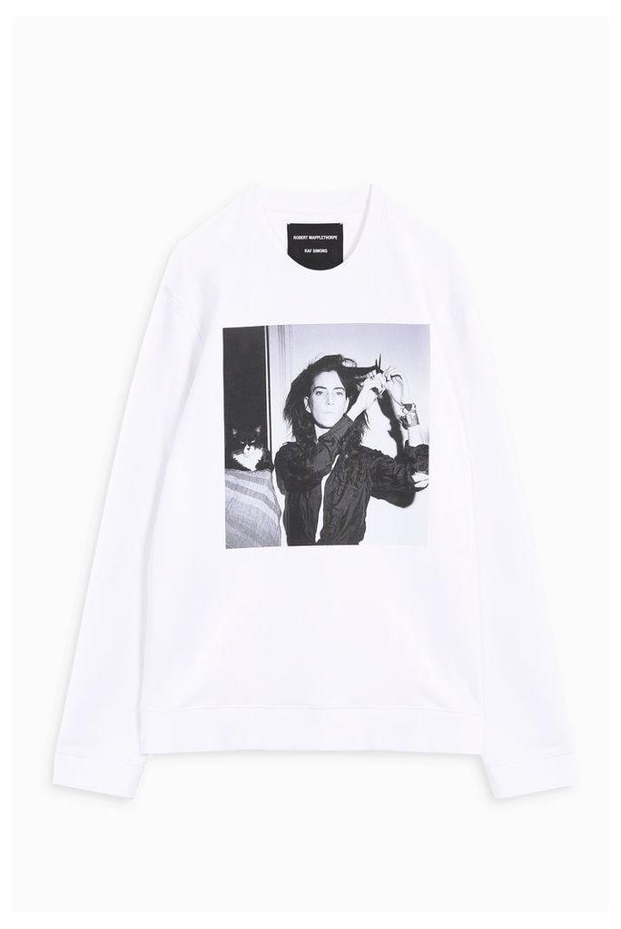 Raf Simons Men`s Patti Smith Sweatshirt Boutique1