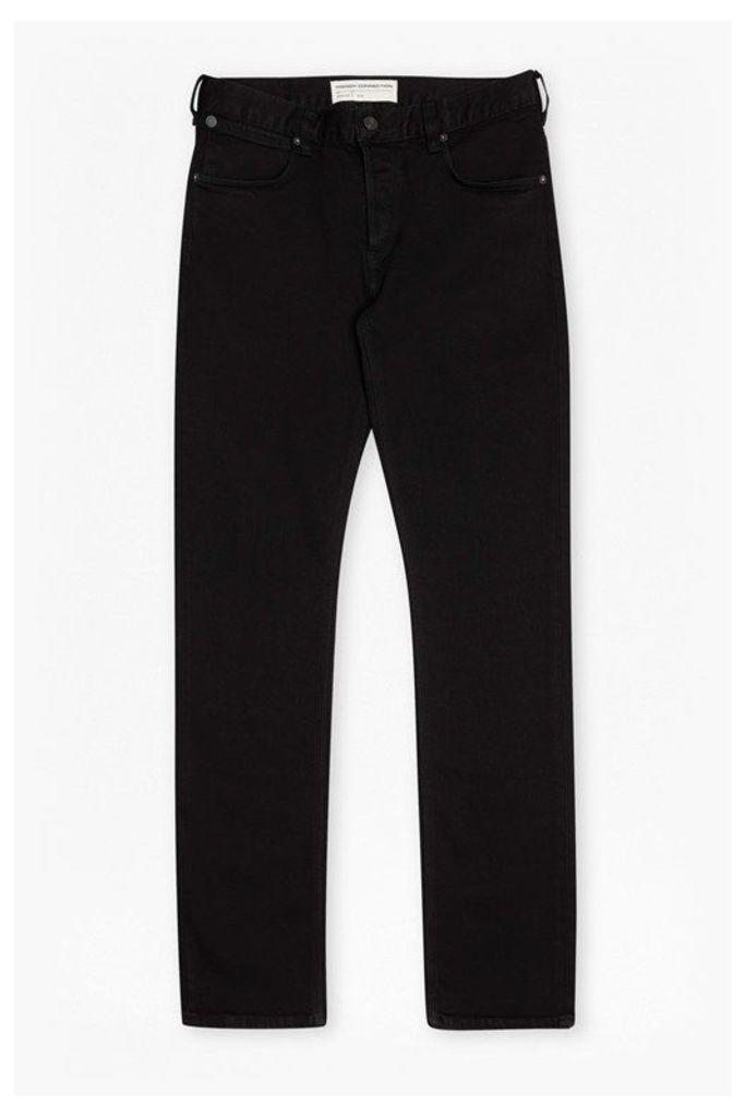 Simpson Denim Slim Leg Jeans  - black