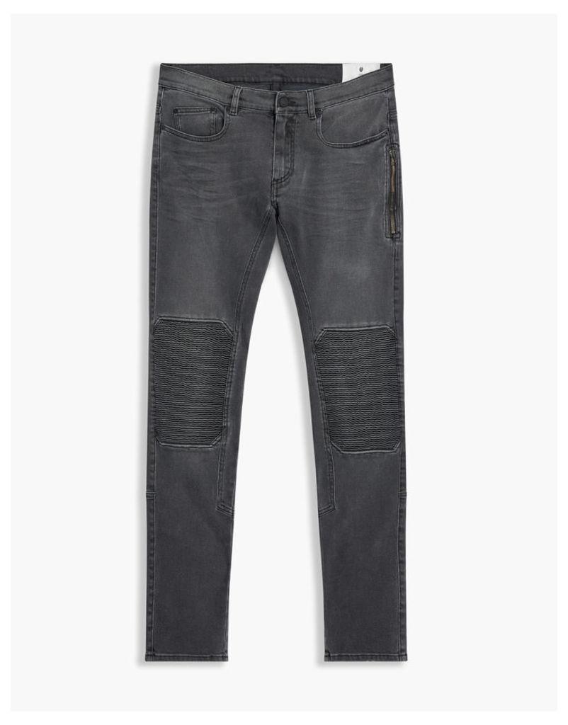 Belstaff Blackrod Biker Jeans Charcoal