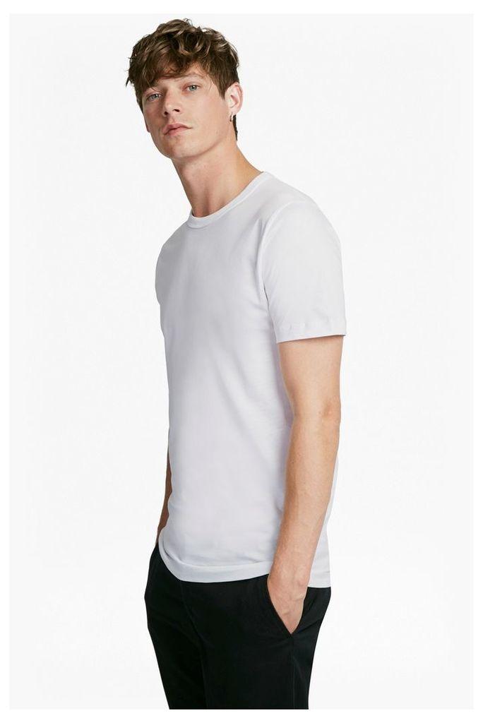 Classic Cotton T-Shirt - charcoal mel