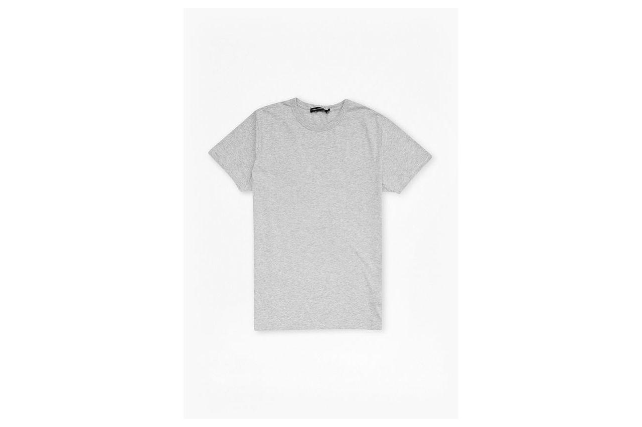 Classic Cotton T-Shirt - grey mel