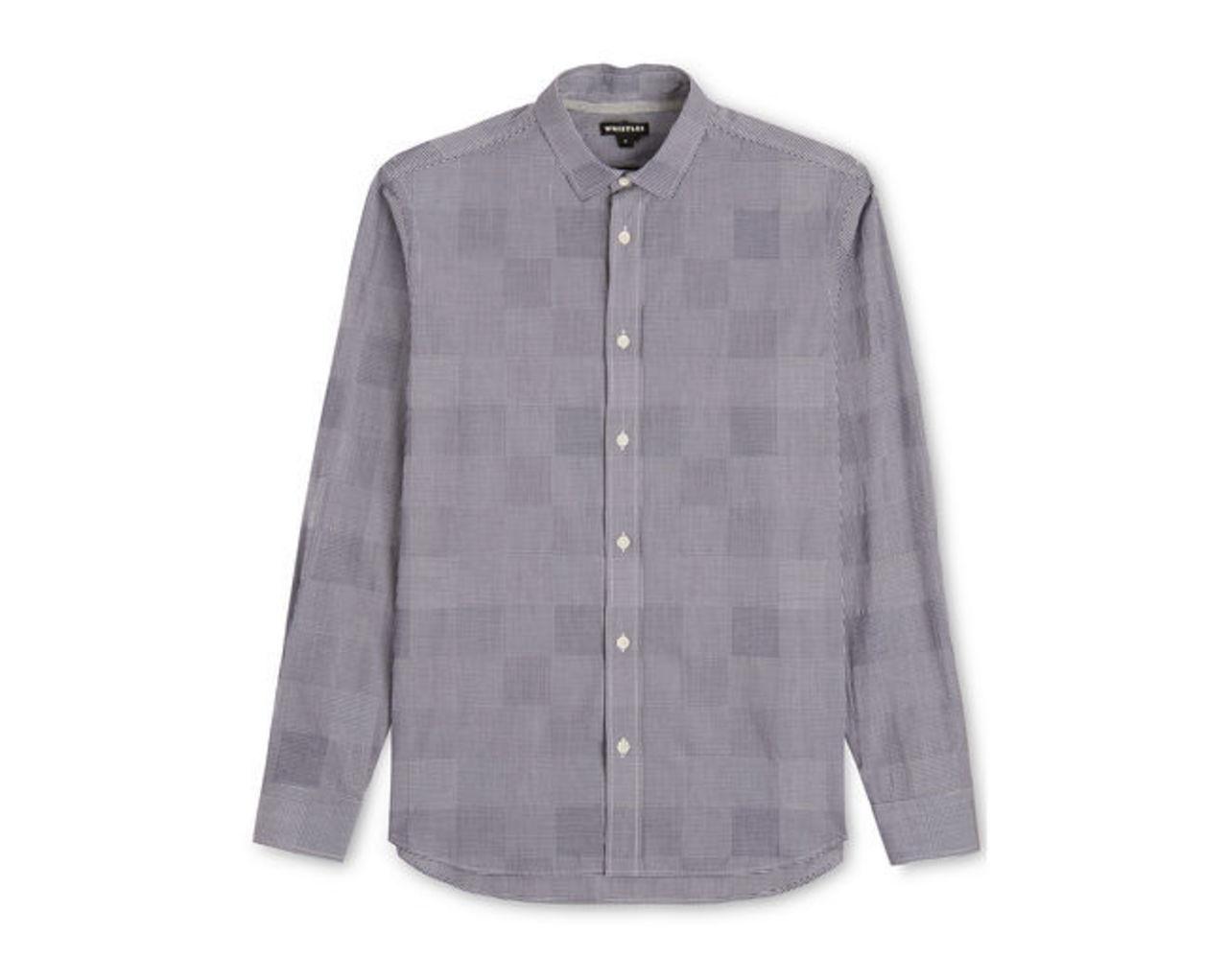 Patchwork Gingham Shirt