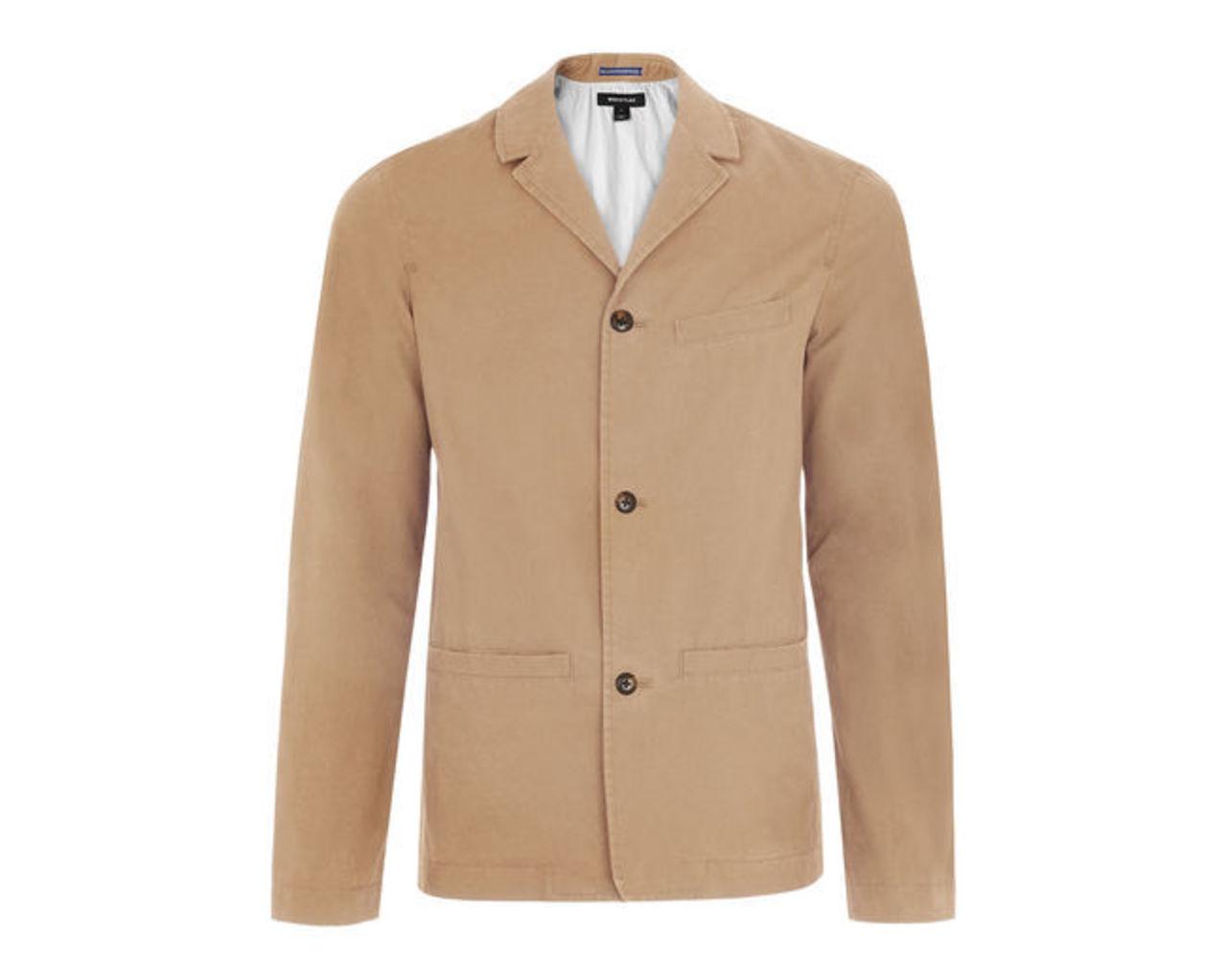 Deconstructed Cotton Jacket