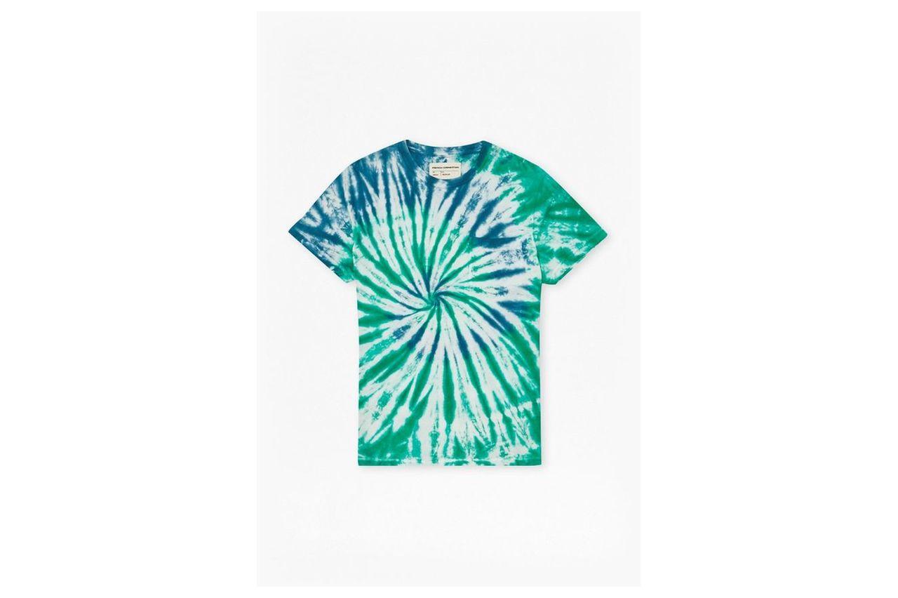 Tie Dye Highway T-Shirt  - beryl green