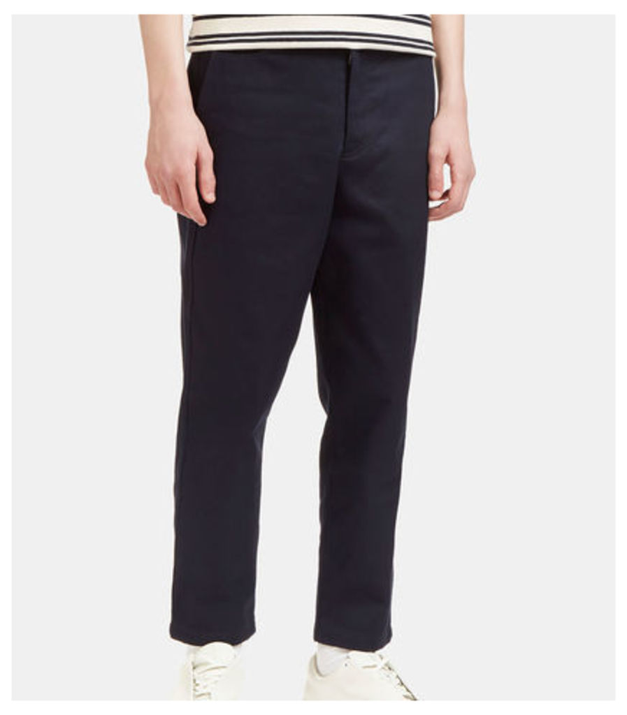 Angus H Twill Cropped Pants