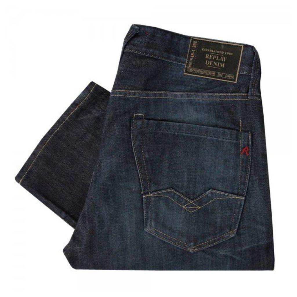 Replay Waitom Blue Denim Jeans M983