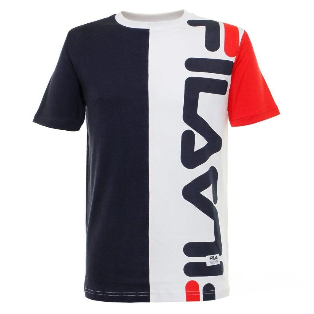 Fila Black Line Cambiasso Peacoat T-Shirt FW16BKM015