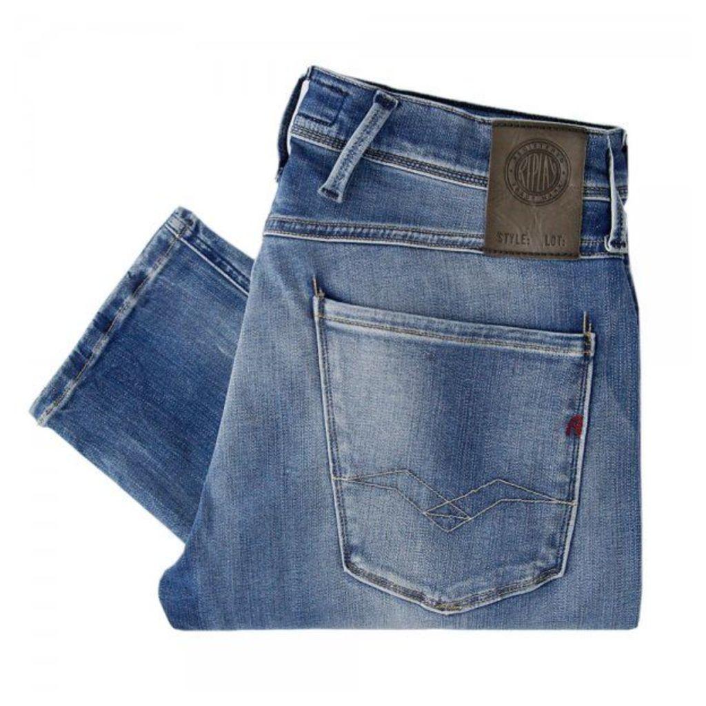 Replay Jeans Hyperflex Anbass Light Wash Jeans M914 661555