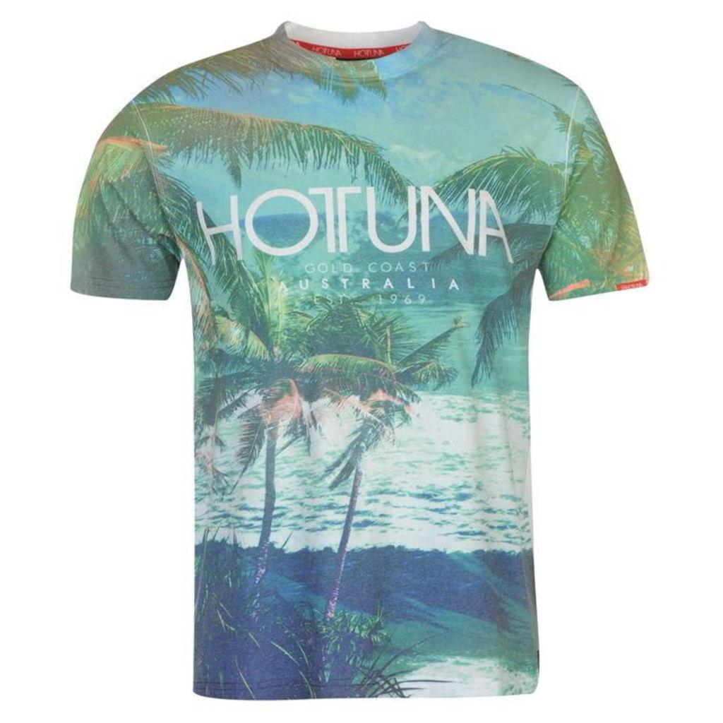 Hot Tuna Sublimation T Shirt Mens