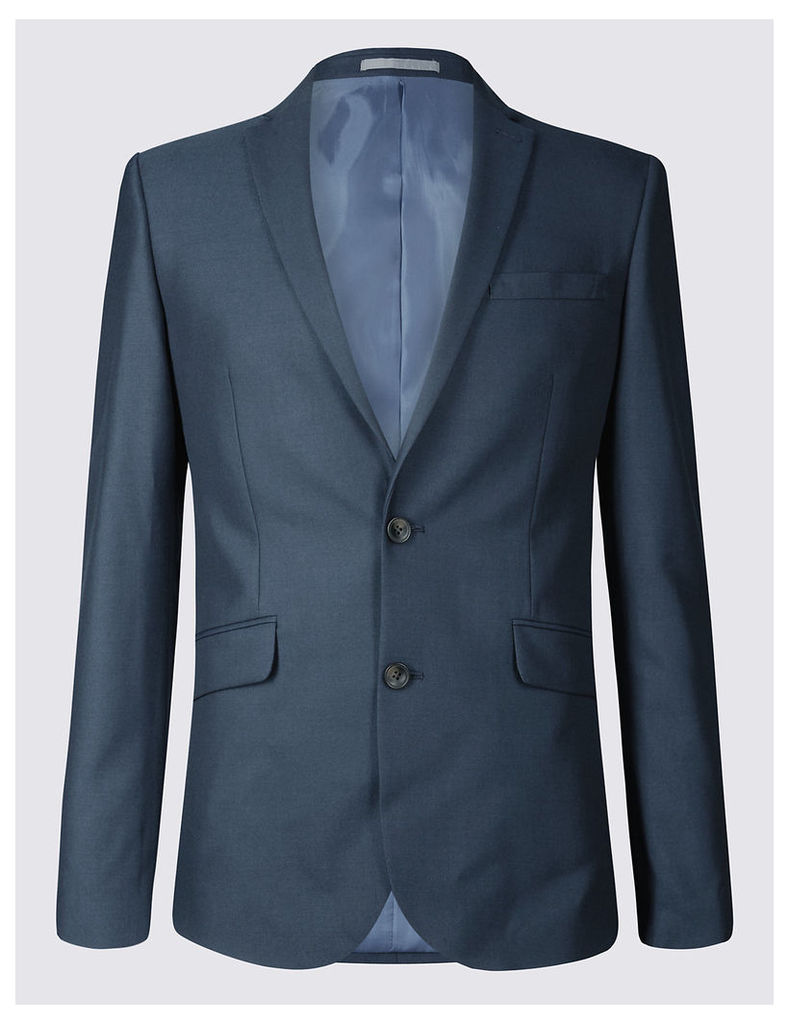 M&S Collection Indigo Modern Slim Fit Jacket