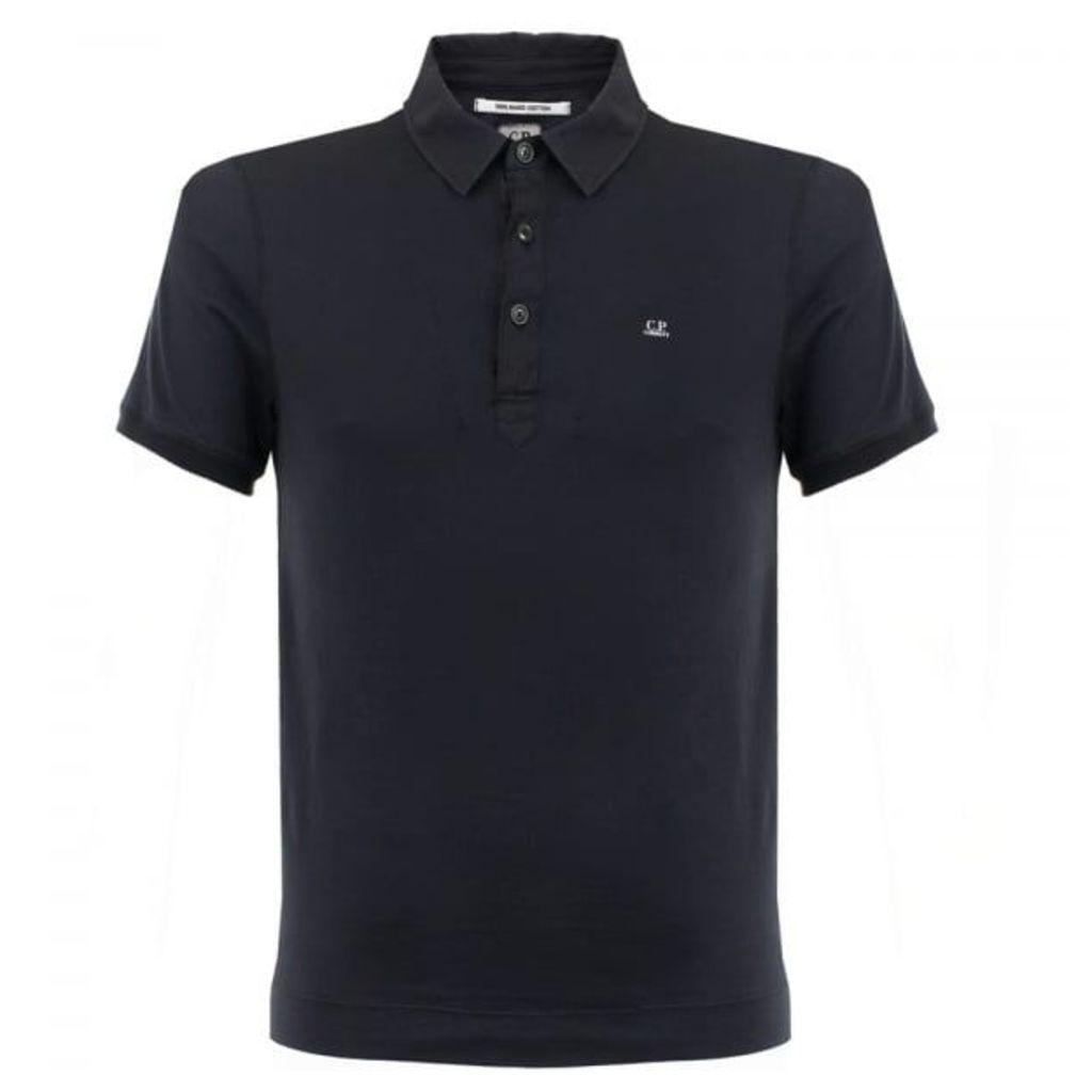 CP Company Mako Navy polo Shirt 16SCPUT02053