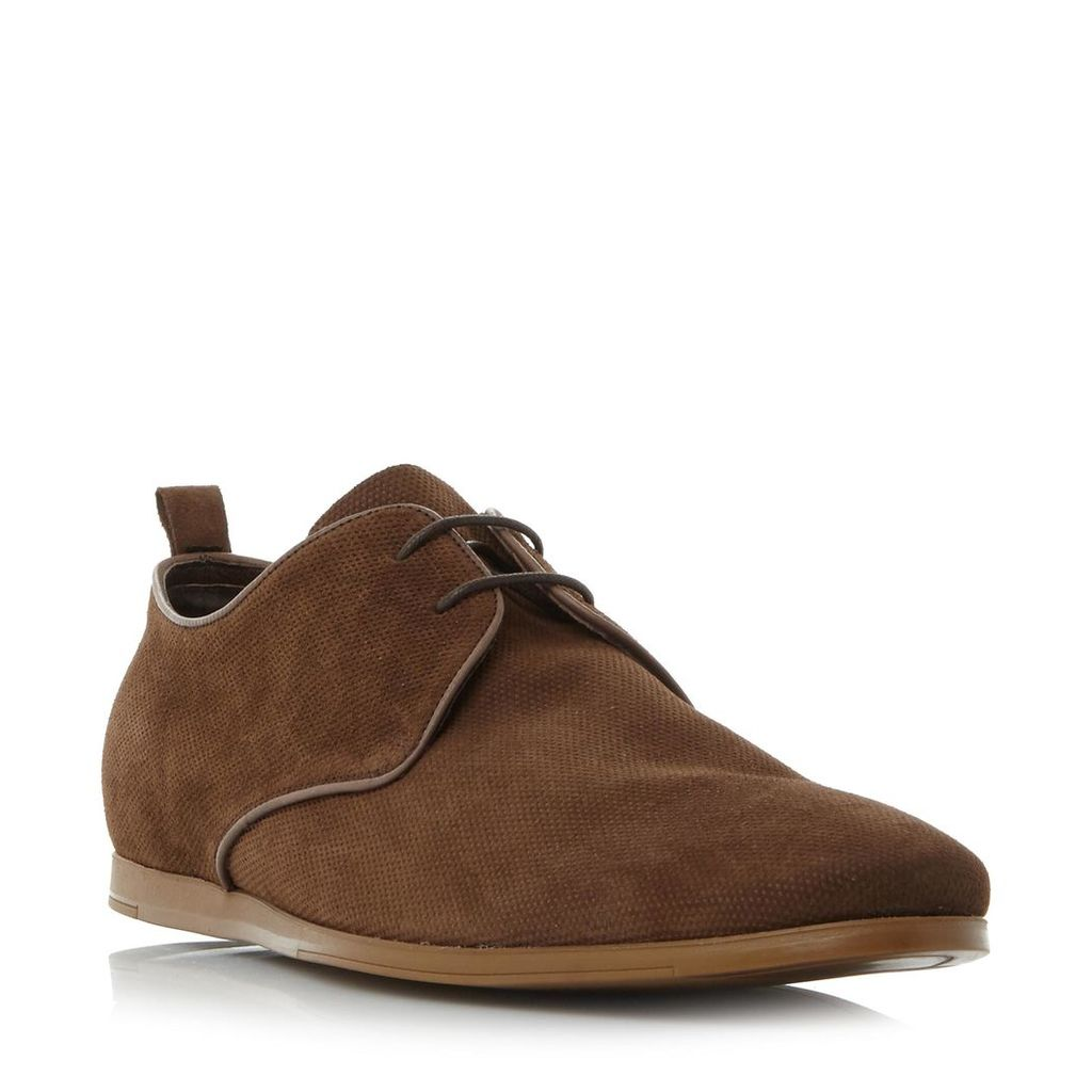 Bray Perforated Suede Lace Up Shoe