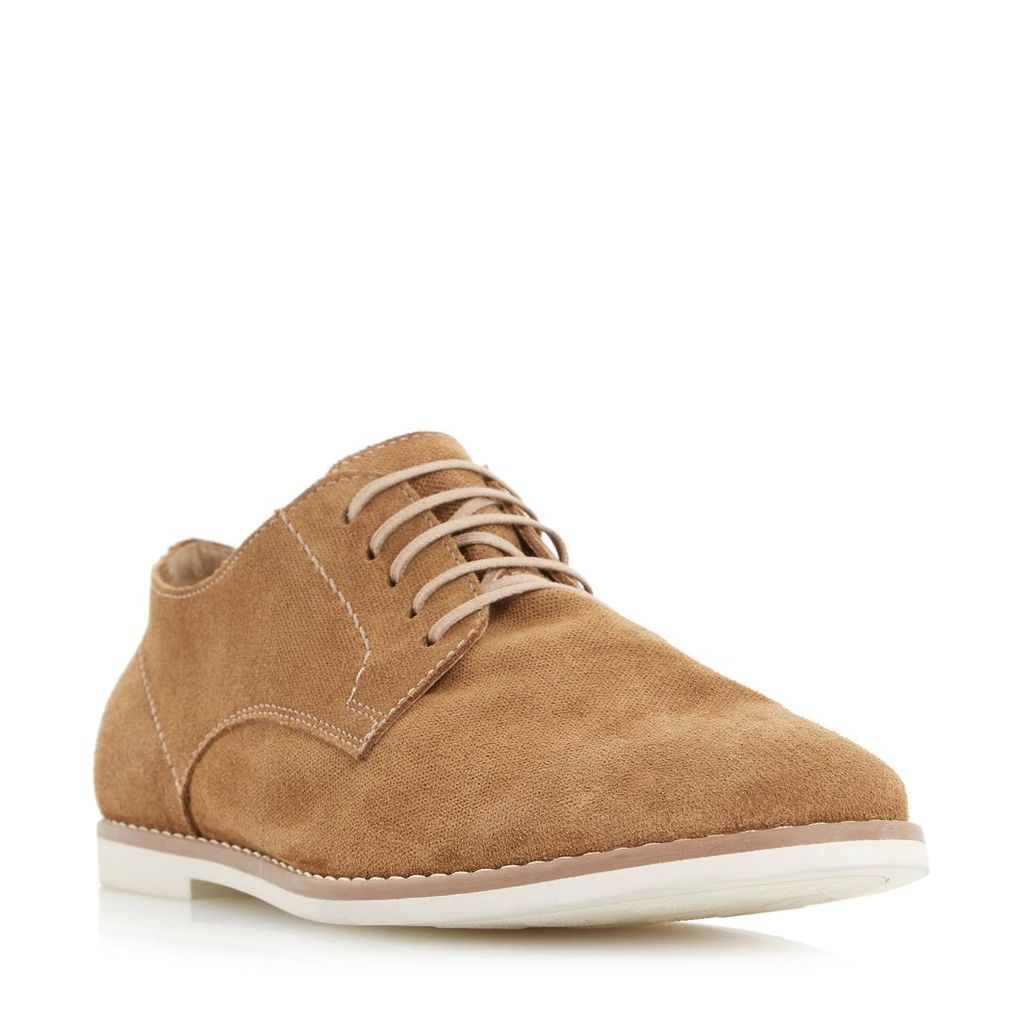 Basil Textured Suede Lace Up Shoe