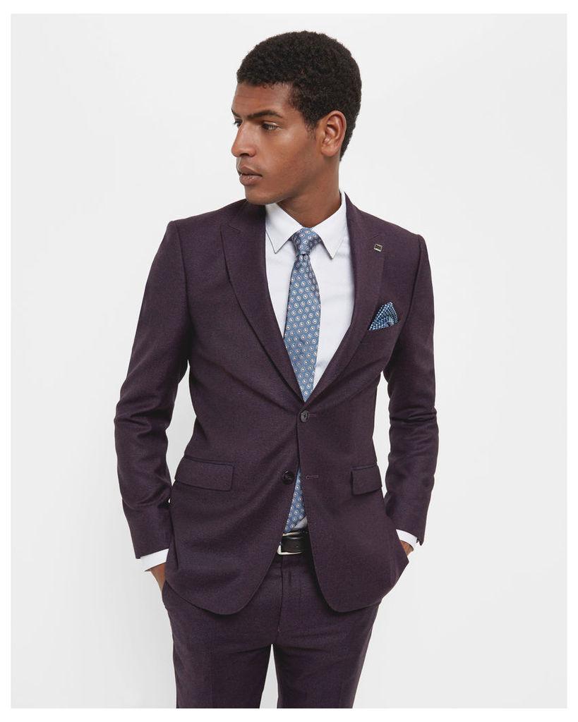 Ted Baker Debonair wool jacket Purple
