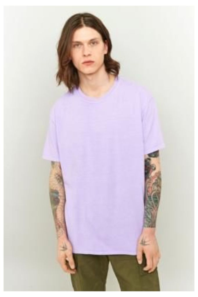 UO Overdyed Lilac T-shirt, LILAC