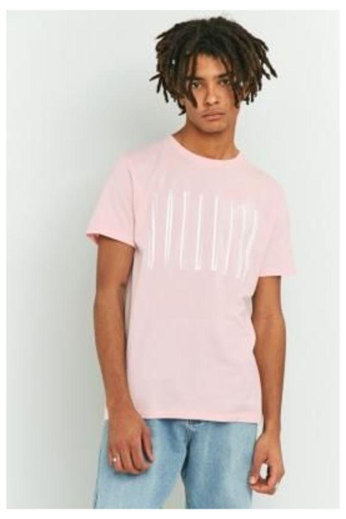 Soulland Barker Pink T-shirt, PINK