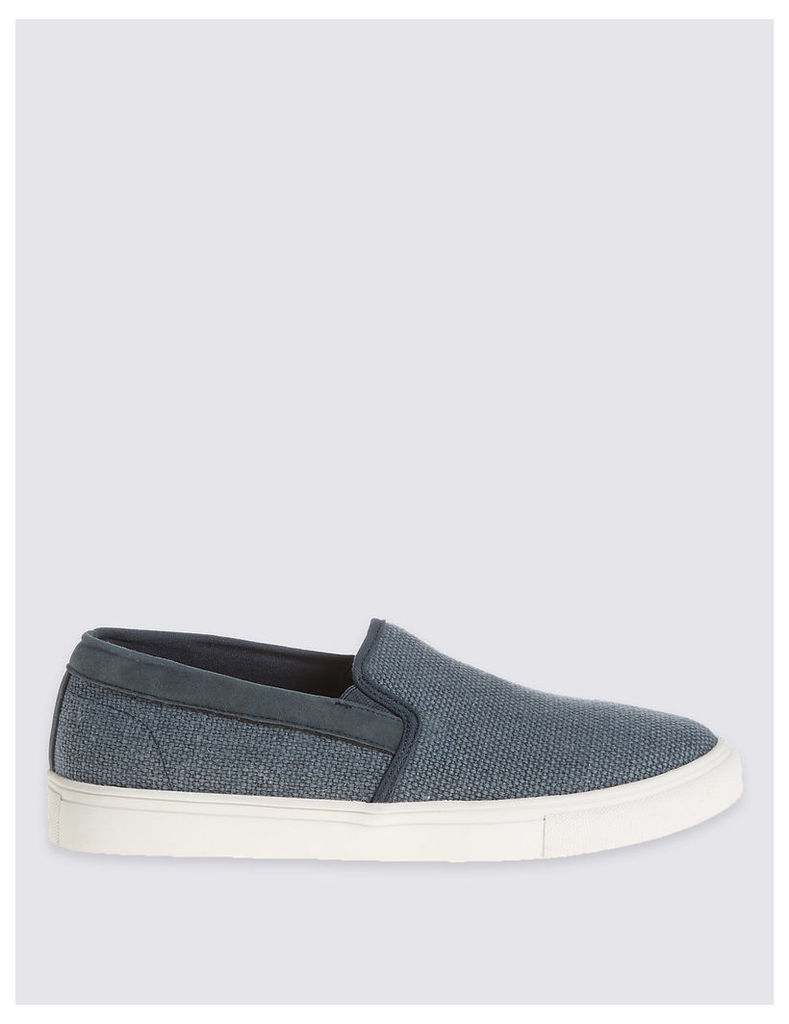 M&S Collection Weave Slip-on Shoes