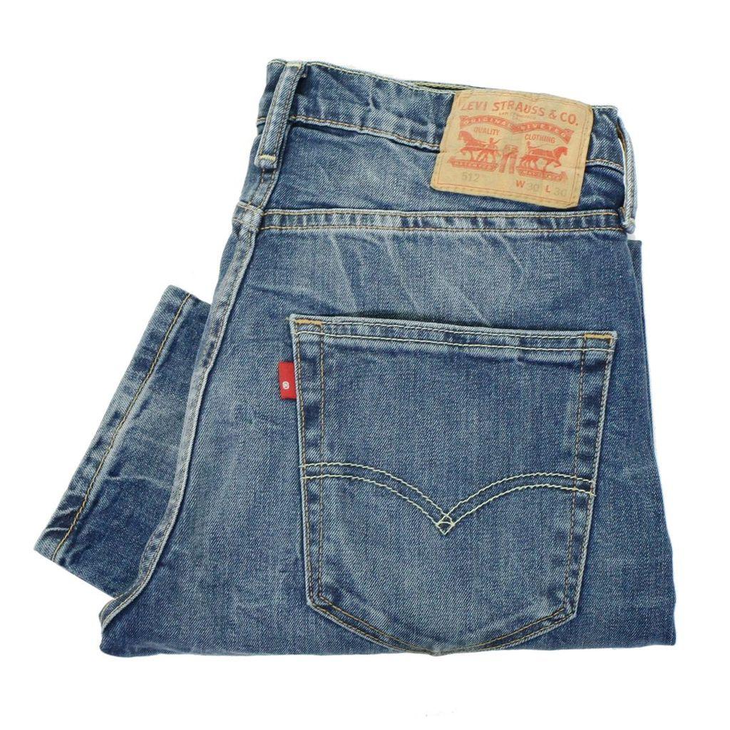 Levi's 512 Slim Tanager Denim Jeans 28833-0020